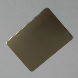 8k Mirror Gold Color Stainless Steel Sheet for Building Material pictures & photos