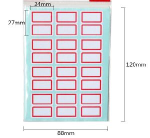 Customized Size Self Adhesive A4 Sticker Label pictures & photos