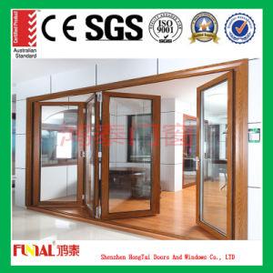 Customized Size Aluminium Bifold Door with Customized Glass pictures & photos