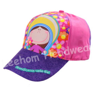 (LK15001) Fashion Kids Baby Cap with Transfer Print pictures & photos