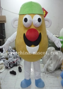 Vegetable Series -Potato Mascot Costume-Can Be Customized