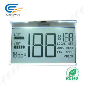 LCD Display White on Blue Monochrome 16X2 LCD pictures & photos