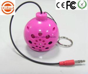 Bomb Shape Mini Poratble Amplifier Speaker pictures & photos
