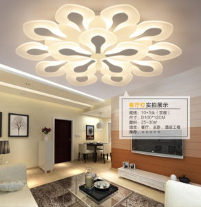 Festival Acrylic Flower LED Ceiling Light Guarantee 100% pictures & photos