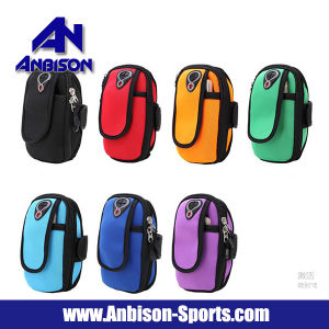 Outdoor Wear Outdoor Cycling Running Hiking Cushioning Arm Phone Bag Case pictures & photos