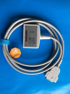 Ge-Marquette 15pin IEC Trunk EKG/ECG Cable pictures & photos