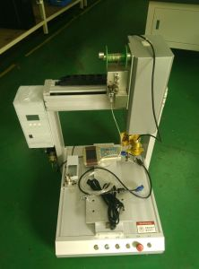 High-Precision Full Automatic Vision Jt-SD3310 with 2glue Needles Glue Dispensing Machine/Glue Dispenser pictures & photos