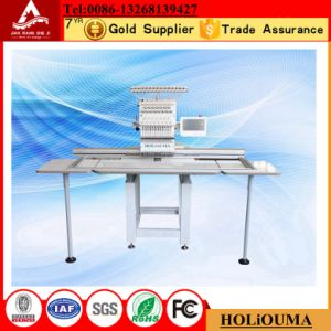 Hot Large Single Head Computer Embroidery Machine for Cap T-Shirt pictures & photos
