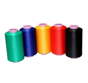 75D-600d DTY Yarn 150/48 Embroidery Sewing Thread 100% Polyester DTY pictures & photos