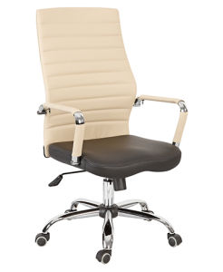 2016 Hot Sales Leather Office Staff Metal Chair (BS-1515) pictures & photos
