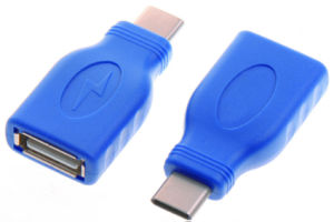 USB3.1 Type C Male to USB2.0 Female Adapter pictures & photos