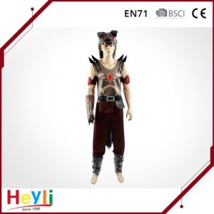 New Design Funny Animal Wolf Man Party Cosplay Costume pictures & photos