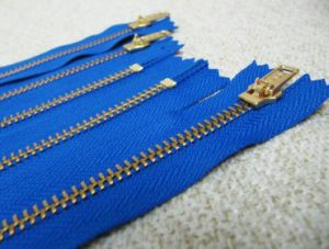 Metal Zipper for Y Teeth (4#gold)