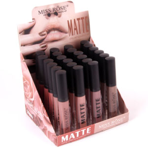 Naked High Quality Matte Color Lip Gloss Easy to Wear Long Lasting Lips Kit Lipstick Liquid Lipgloss Cosmetics pictures & photos
