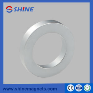 Sintered Permanent N52 NdFeB Neodymium Ring Magnet with Zinc Plated for Speaker pictures & photos