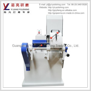 Single Sand Belt Metal and Wood Circle Tube and Stick Grinder