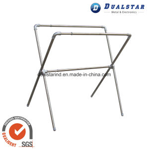 Folding Telescopic X Type Clothes Hanger