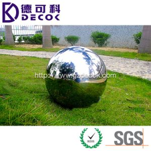 1m Large Stainless Steel Ball Large Size Garden Decoration Ball pictures & photos
