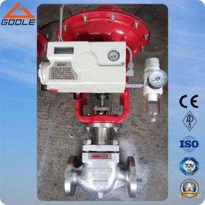 Pressure Balanced Cage Type Pneumatic Pressure Regulating Valve (HSC) pictures & photos