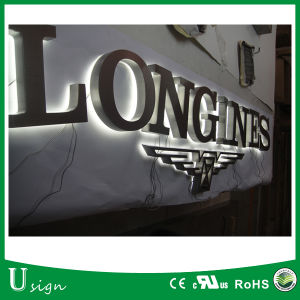 Back Lit LED Illuminated Stainless Steel 3D Channel Letter pictures & photos