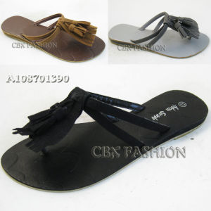 2014 Fashion Summer Tassel Ladies Slippers Shoes (A108701390)