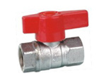 Brass Ball Valve with Plastic Handle (KX-BV02) pictures & photos