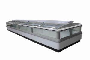 3750mm Island Freezer with Glass Door (KN-DK1.6WF) pictures & photos