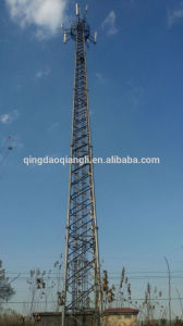 Self Supporting Tower Telecom Microwave Communication Tower