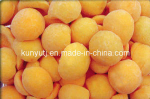 Frozen Yellow Peach Halves with High Qualiyt pictures & photos