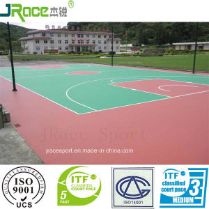 Covering Material for Outdoor Basketball Court pictures & photos