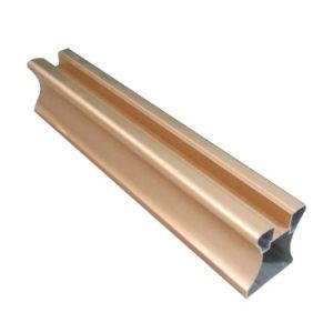 Golden Aluminum for Wardrobe Door Frame pictures & photos