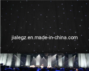 6x4m LED White Color Star Cloth LED Light
