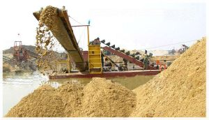 High Efficient Sand Dredging Vessel with Chain Bucket