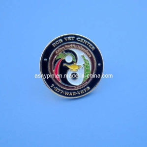 Soft Enamel Metal Lapel Pin Badge (ASNY-LULP901) pictures & photos