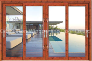 Sliding Glass Door Soundproof Wooden Door pictures & photos