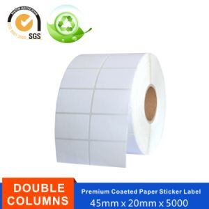 White Coated Paper Label Printing with Customize