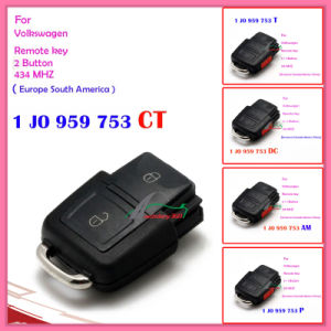 Remote for Auto VW with 3+1 Buttons 1 Jo 959 753 T 315MHz for America Canada Mexico China pictures & photos