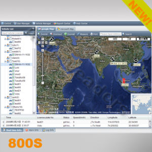 GPS Real Time Online Tracking System (800S)