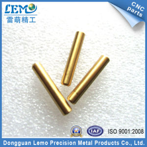 Brass Knurling Fittings by CNC Machining (LM-0603T) pictures & photos