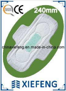 Ultra Thin Anion Sanitary Napkin for Day Use