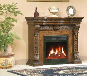 CE Approved European Electric Fireplace/Electric Heater (603) pictures & photos