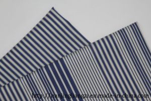 Cotton Nylon with Spandex Yarn Dyed Twill Fabric pictures & photos