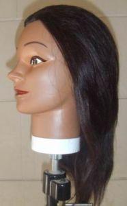 Natural Black Human Hair Training Head pictures & photos
