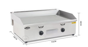 New Style Commercial Gas Griddle Gg-718/720 pictures & photos