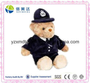 Policeman Teddy Bear Soft Plush Toy pictures & photos
