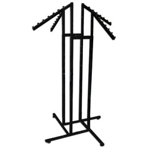 4 Way Slanted Arms Clothing Garment Cloth Clothes Rack Stand pictures & photos