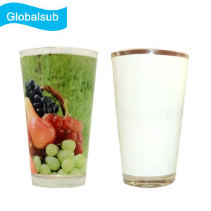 17oz Cone Glass Mug with Unique Sublimation Image pictures & photos