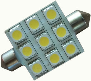 Festoon Bulb 9SMD Auto Lamp, 10-30VDC pictures & photos