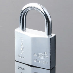 Chrome Plated Rhombic Type Padlock pictures & photos