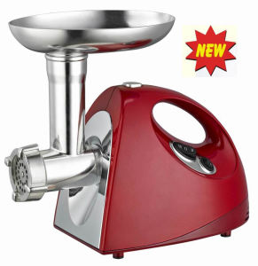 Electric Meat Grinder with Competitive Price, Reversible Function, Aluminum Meat Filling Pan